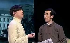 艾伦 黄才伦 小品《针炭组合》
