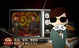 烧饼 曹鹤阳 相声《甲方乙方》清晰版