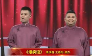 王春阳 黑杰 相声《爆疯语》