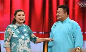 青年女相声演员王慧,与搭档杨宏钰合说的相声小段《轶事趣谈》